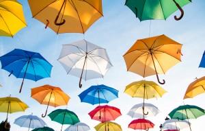 UmbrellasInSky